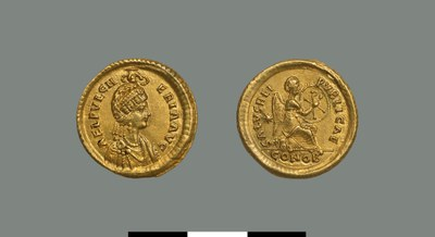 Solidus of Pulcheria (414-453)