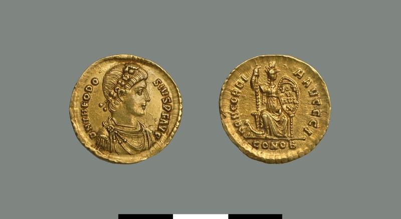 Solidus of Theodosius I (379-395)