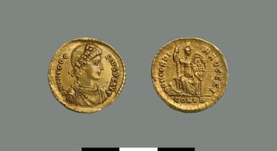 Solidus of Theodosios I (379-395)