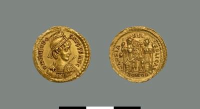 Solidus of Theodosios II (402-450)