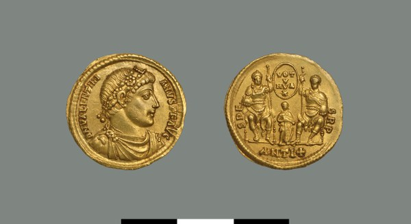 Solidus of Valentinian I (364-375)