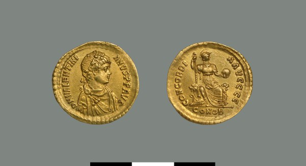 Solidus of Valentinian II (375-392)