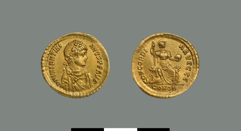 Solidus of Valentinian II (375-392)