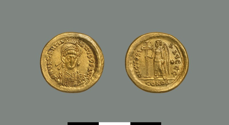 Solidus of Valentinian III (425-455)