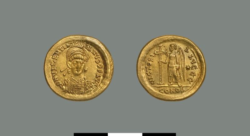 Solidus of Valentinian III (425-455)