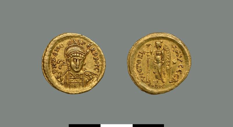 Solidus of Zeno (476-491)