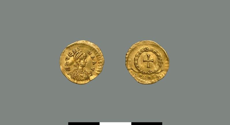 Tremissis of Verina (457-484)