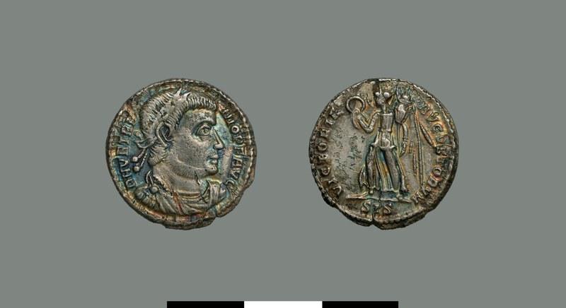 Silver coin of Vetranio (350)