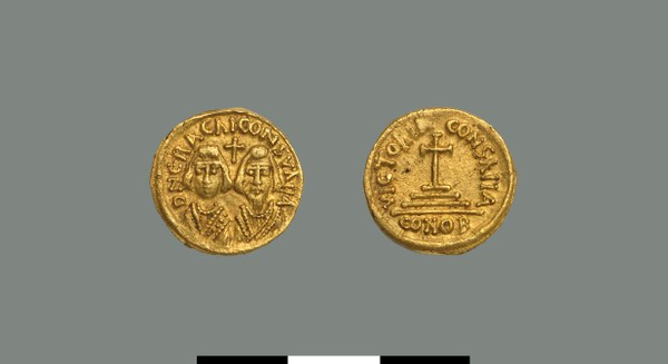 Solidus of the Interregnum (608-610)
