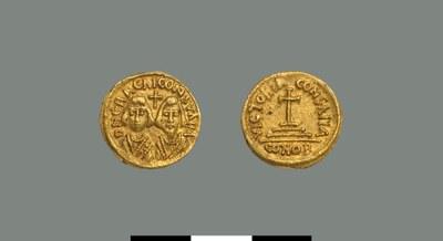 Solidus of the Interregnum (608-610)
