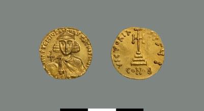 Solidus of Anastasios II (713-715)