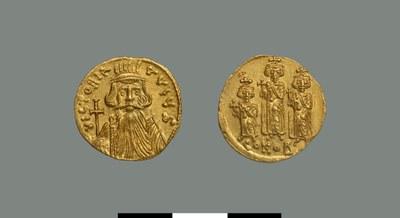 Solidus of Constans II (641-668)