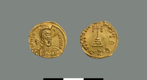Solidus of Constantine IV (668-685)