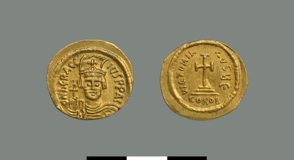 Solidus of Herakleios (610-641)
