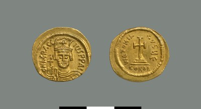 Solidus of Herakleios (610-641)