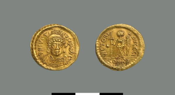 Solidus of Justin I (518-527)