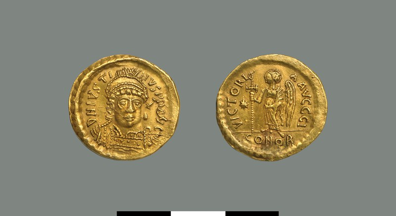 Solidus of Justin I (518-527)