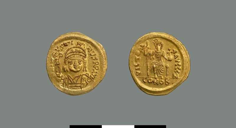 Solidus of Justin II (565-578)