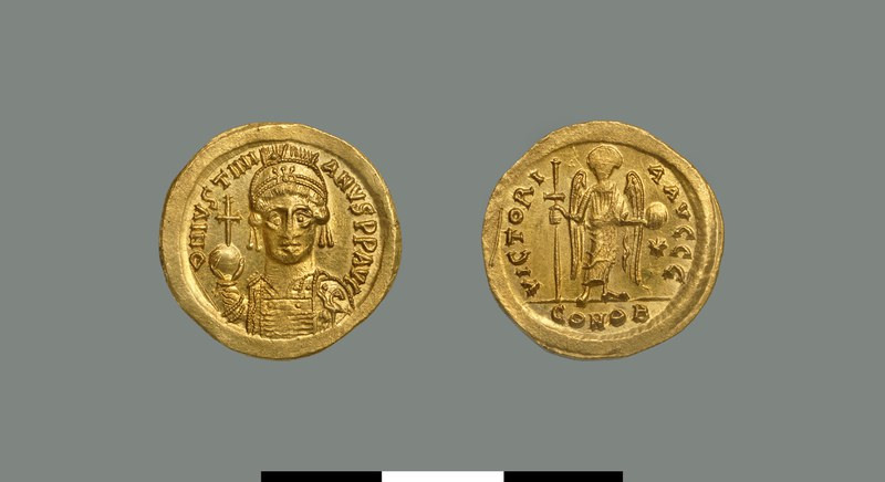 Solidus of Justinian (527-565)