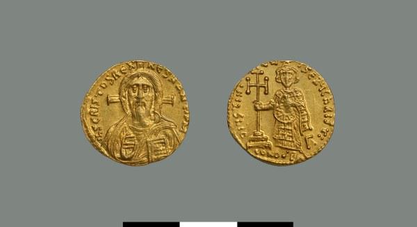 Solidus of Justinian II (685-695)