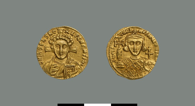 Solidus of Justinian II (705-711)