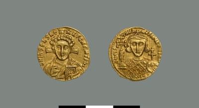 Solidus of Justinian II (705-711)