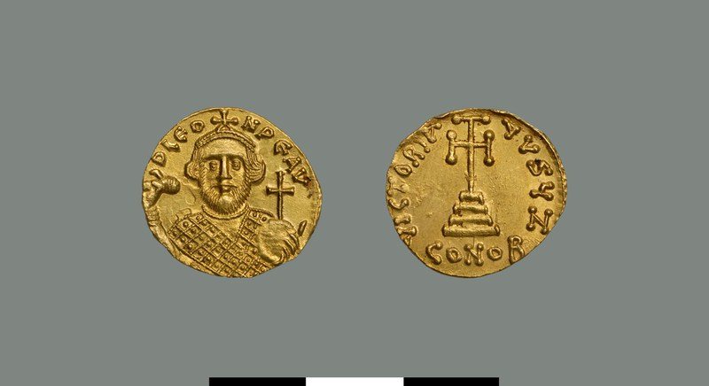 Solidus of Leontios (695-698)