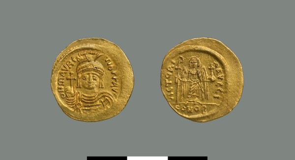 Solidus of Maurice (582-602)