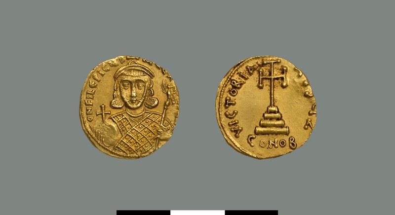 Solidus of Philippikos (711-713)