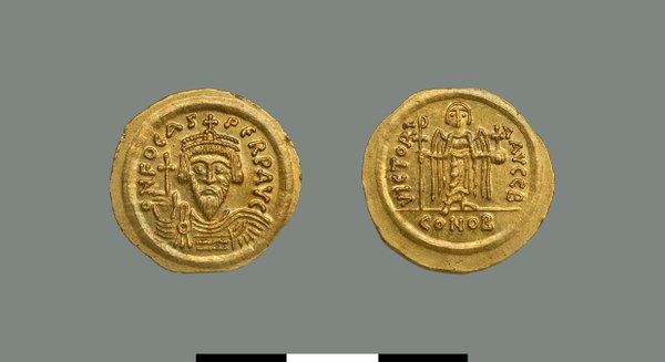 Solidus of Phokas (602-610)