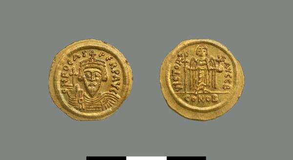 Solidus of Phokas (602-610)