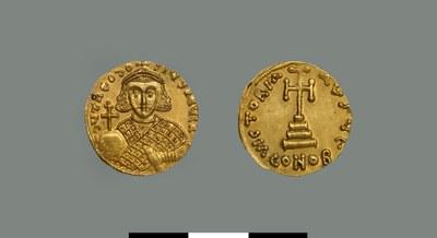 Solidus of Theodosios III (715-717)