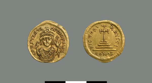 Solidus of Tiberios I (578-582)