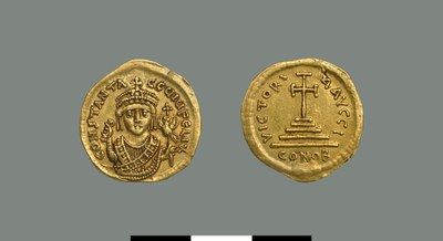 Solidus of Tiberios II (578-582)