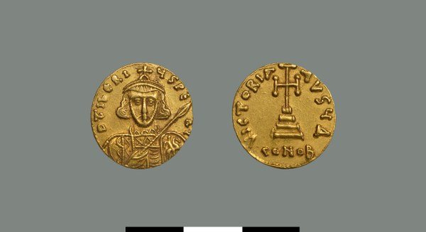Solidus of Tiberios III (698-705)