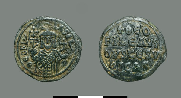 Follis of Theophilos (829-842)