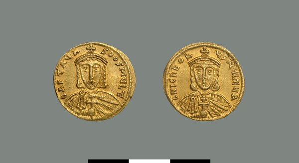 Solidus of Artabasdos (742-743)