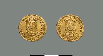 Solidus of Artabasdos (742-743)
