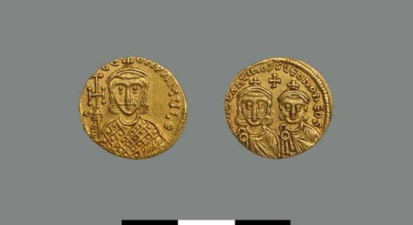 Solidus of Constantine V (751-775)
