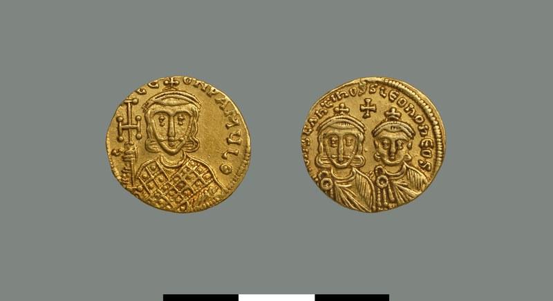 Solidus of Constantine V (751-775)