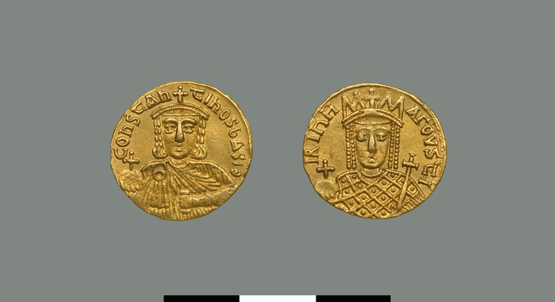 Solidus of Constantine VI (780-797)