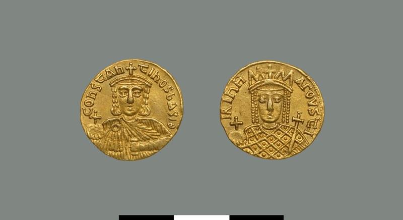 Solidus of Constantine VI (780-797)