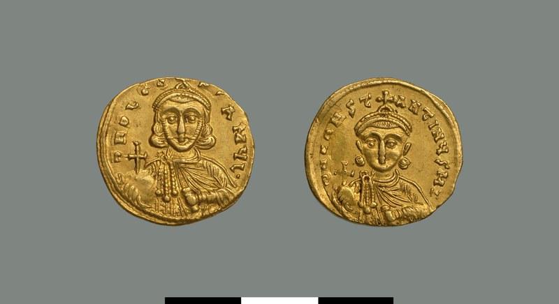 Solidus of Leo III (717-741)