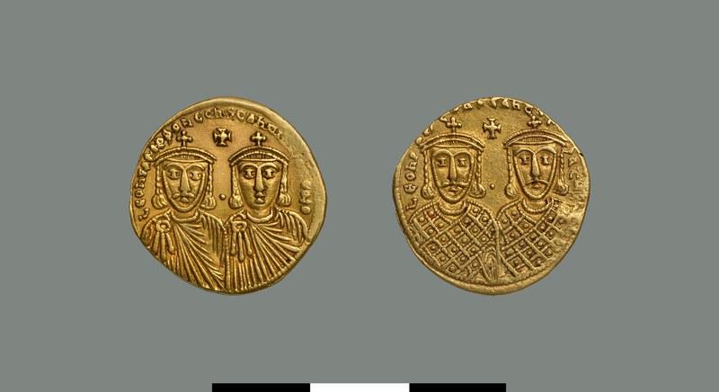 Solidus of Leo IV the Khazar (775-780)