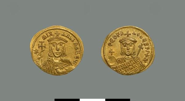 Solidus of Michael II (820-829)