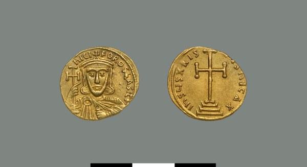 Solidus of Nikephoros I (802-811)