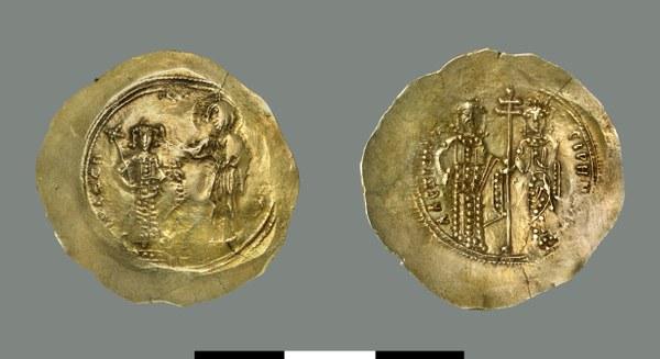 Aspron trachy of Alexios I Komnenos (1081-1118)