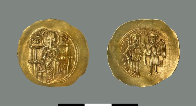 Hyperpyron of Isaac II Angelos (1185-1195)