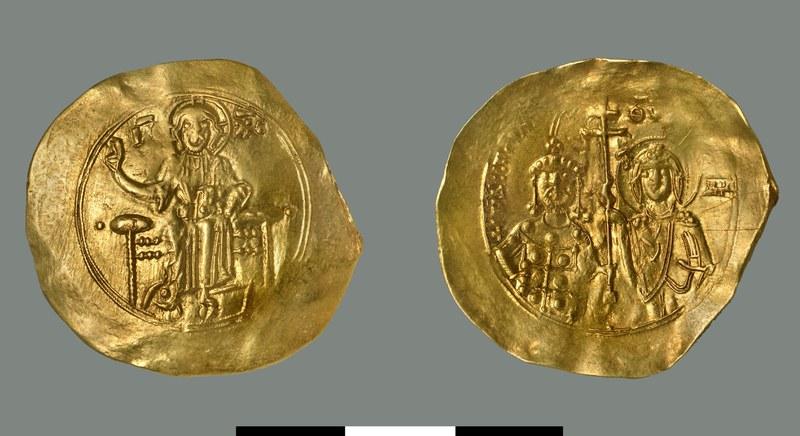 Hyperpyron of John II Komnenos (1118-1143)