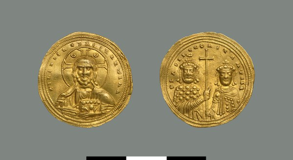 Nomisma histamenon of Basil II (976-1025)